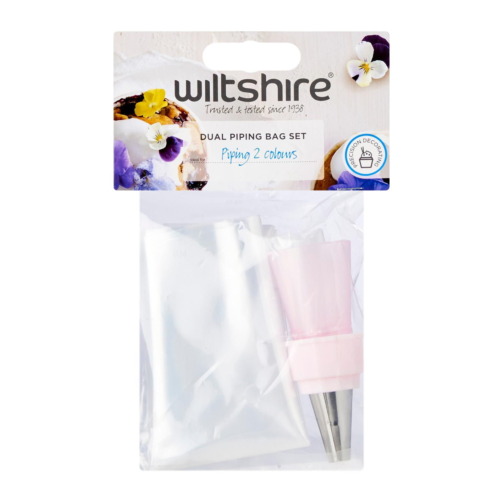 Wiltshire Dual Piping Bag Set