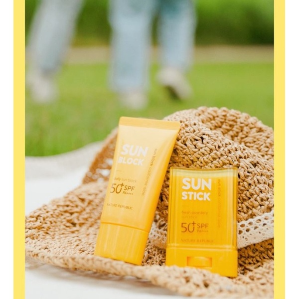 Buy NATURE REPUBLIC *JUMBO LARGE SIZE* CALIFORNIA ALOE DAILY SUN BLOCK SPF50+ PA++ (57/150ML) SG SELLER *FAST DELIVERY* WHITENING SUNSCREEN PROTECTION FROM HARMFUL UVA & UVB RAYS *FOR MEN & WOMEN* MOST SKIN TYPES - 100% AUTHENTIC BEAUTY BESTIE - MADE IN KOREA Singapore