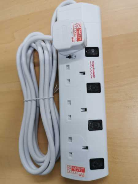 MGM Extension Socket 4 Ways 3 metres
