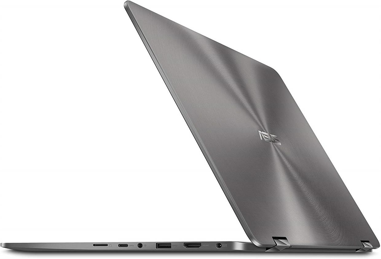 "ASUS ZenBook Flip 14 Ultra Slim Convertible Laptop, 14"" Full HD WideView, 8th Gen Intel Core i7-8565U, 16GB RAM, 512GB PCIe SSD, GeForce MX150, Windows 10"