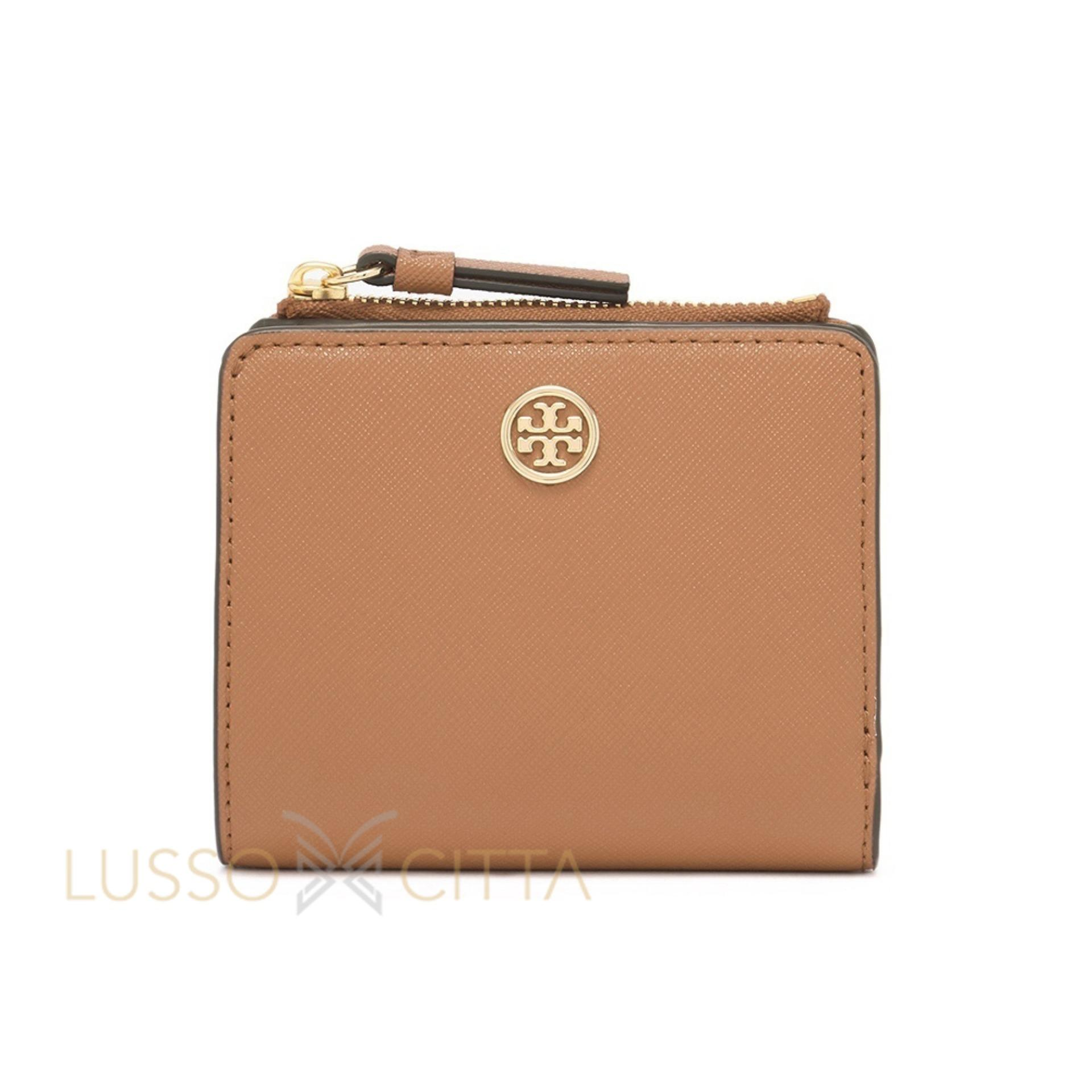 NEW ARRIVAL Tory Burch Robinson Mini Wallet Cardamom