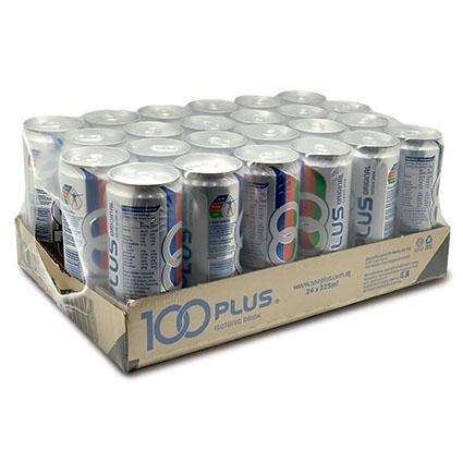 100 Plus 24x325ml Cans Carton Deal (24x325ml) By Chaphediam.