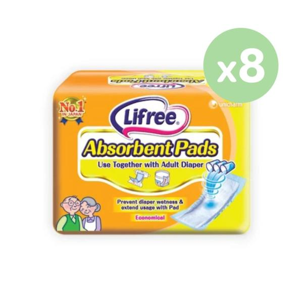 Buy Lifree Absorbent Pads 18 Pieces x 8 Packs Singapore