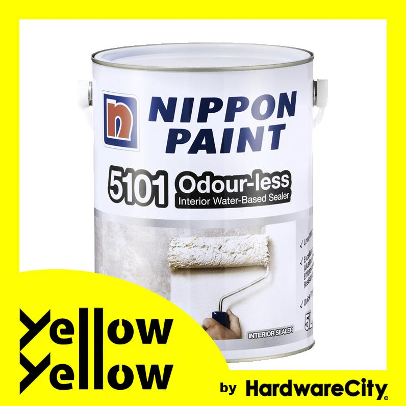Nippon Paint 5101 Odour-less Interior Water-Based Sealer 1L/5L (ODOURLESS)