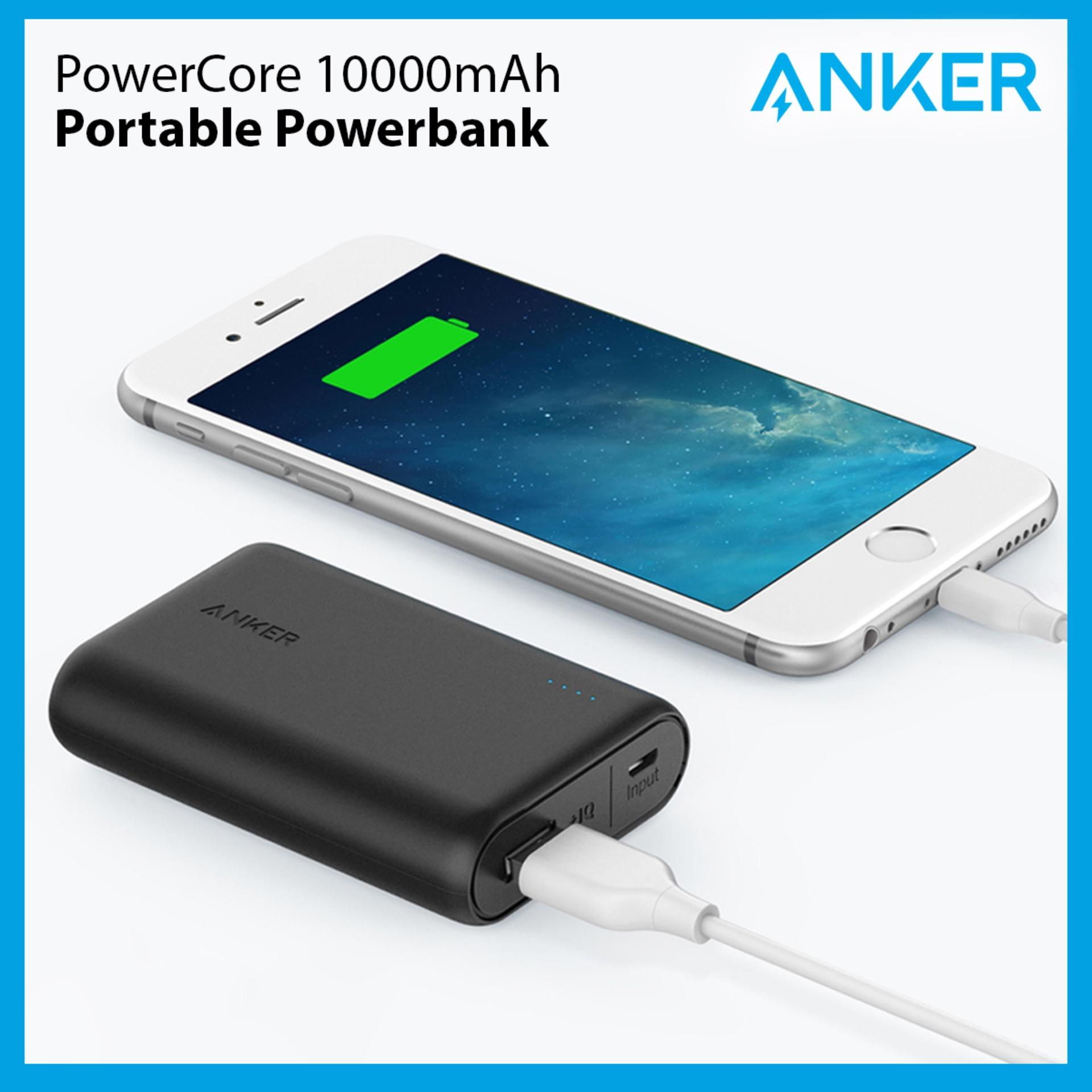 Anker Powercore Speed 10000mah Qc 3.0 Portable Charger Powerbank External Battery Portable Battery.