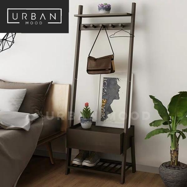 [Pre-Order] MIGUEL Rustic Bedside Table Rack
