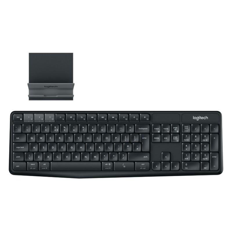 Logitech K375s Wireless Keyboard Black Singapore