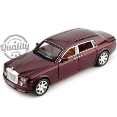 1 24 Scale Rolls Royce Phantom W Sound Light Pull Back Model Toy Diecast Car Intl Coupon Code