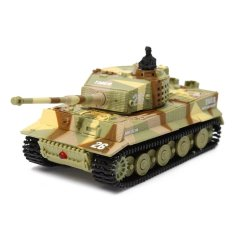 Deals For 1 72 Mini Remote Control German Military Tiger Tank Assault Vehicle Model Children Toy