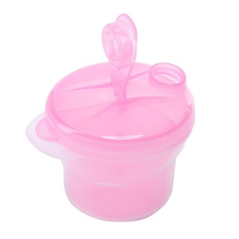 1 Layers Portable Infant Baby Milk Powder Formula Dispenser Feeding Storage Case Box Container