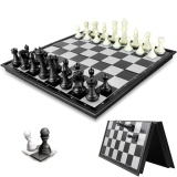 Price Comparisons For 1 Set Chess Folding Magnetic Board Box Game Travel Mini Table Portable Intl