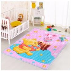 Discount 100 Cotton Kid Play Mat Baby Crawling Carpet Child Floor Blanket Intl China