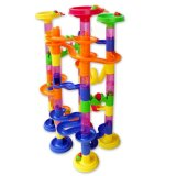Compare Price 105Pcs Diy Construction Marble Race Run Maze Balls Track Building Blocks Colormix On China
