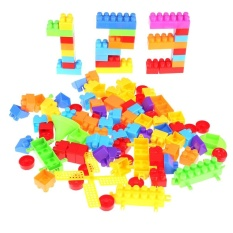 110pcs Baby Kid Building Brick Match Puzzle Educational Intellectual Toy - Intl By Welcomehome.