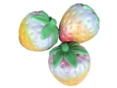 11.5CM Jumbo Colossal Squishy Colorful Strawberry Cream Scented Slow Rising Kids - intl