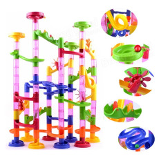 116pcs Building Blocks Marble Run Race Game Construct Creative Towers Kids Gift - Intl By Teamwin.