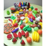 Price 120 Pcs Plastic Food Fruits Vegetables Toy Set Kitchen Pretend Play Toy For Boys And Girls Oem