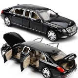 Sale 1 24 Mercedes Maybach S600 Limousine Diecast Metal Model Car W Box Xmas Gift Intl China