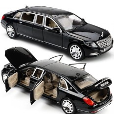 Top 10 1 24 Mercedes Maybach S600 Limousine Diecast Metal Model Car W Box Xmas Gift Intl