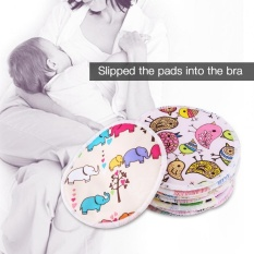 12pcs Soft Washable Bamboo Fiber Anti-Spill Breastfeeding Pads Maternity Nursing Pad - Intl By Highfly.