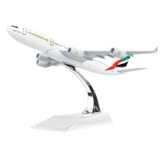 Sale 1 400 Airplane Emirates A340 Plane Alloy Model 16Cm Intl Online On China