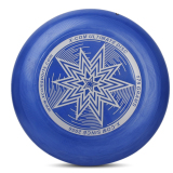 Price 175G Pe Ultimate Disc Frisbee Flying Disc Competition Star Pattern Deep Blue On Hong Kong Sar China