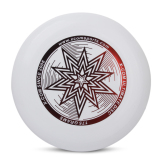Sale 175G Pe Ultimate Disc Frisbee Flying Disc Competition Star Pattern White Online Hong Kong Sar China