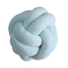 Recent 18 X18Cm Handmade Creative Knot Cushion Knotted Ball Pillow North Europe Style Intl