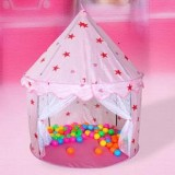 Review 1 Kids Toddlers Play Tent Teepee Garden Indoor Outdoor Princess House Game Toy Intl China