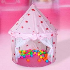 Best Offer 1 Kids Toddlers Play Tent Teepee Garden Indoor Outdoor Princess House Game Toy Intl