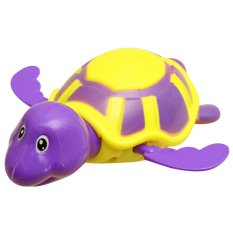 1pc Baby Swim Turtle Chain Clockwork Bathing Toy (multicolor) By Welcomehome.