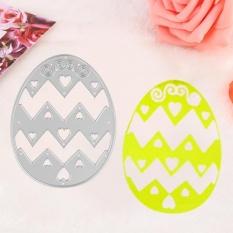 1pc Cute Egg Pattern Dies Metal Stencil Scrapbook Card Album Embossing Crafts Tool - Intl By Highfly