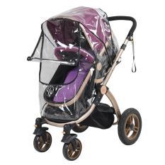 1Pc Pvc Waterproof Baby Stroller Rain Cover Dust Wind Shield Intl Oem Discount