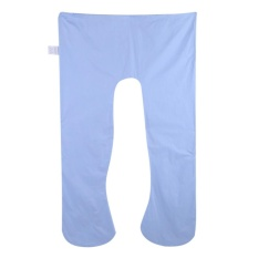 Shop For 1Pc Women Pregnant Arm Body Supporter Sleeping Pillow Cover U Shape Cushion Cover Blue Intl