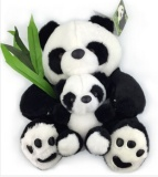 Buy 1Pcs 50Cm Cute Soft Sitting Panda Plush Toys Full Giant Panda Stuffed Doll Soft Lovely Toy Gifts For Children Intl Oem