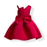 Compare 1Pcs Kid G*rl Princess Dress Baby G*rl Ball Gown Dress Girls Evening Dress Intl