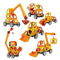 1Pcs Magnetic Designer Building Blocks 3D Diy Creative Engineering Vehicles Bricks Models Learning Educational Toy Kid Gifts Intl Promo Code