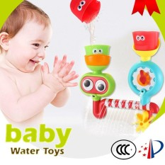 1piece Funny Baby Kids Bath Toys Colorful Water Spraying Bathroom Bathtub Shower Toys Play Sets For Children By Twins Girl.