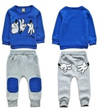 Where Can I Buy 2 7Years New Autumn Kids Kids Boys Finger Games Sport Tracksuit Intl