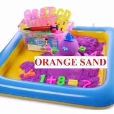 2kg Bundle Kinetic Magic Sand Free 52 Pcs Mould By Every Little Gift.
