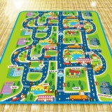 Compare Prices For 2 Meter Foam Play Mat Baby Crawling Mat Child Picnic Carpet Baby Floor Mat Child Beach Mat City Traffic 2 1 6M Intl