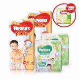 Brand New 2 Packs Huggies Gold Pants Pack Xl 38 2 Packs Of Huggies Baby Wipes Gentle Care 3X80S