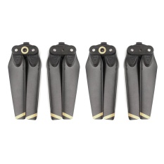 Buy 2 Pair Quick Release Folding Spare Main Blades Propeller Cw Ccw Propeller For Dji Spark Drone Accessories Black Golden Intl Oem Online