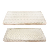 The Cheapest 2 Pcs Pack Baby Crib Fitted Sheet 100 Cotton Soft Mattress Cover Newborn Bedding S 120X60Cm Intl Online