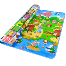 Compare Price 200 X 180Cm Thick 5Cm Double Sides Non Slip Waterproof Fruit Animals Letter Baby Kid Care Crawling Floor Play Game Mat Pad For Indoor Outdoor Use Vococal On China