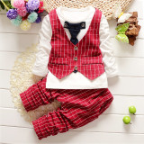 Buy 2016 Autumn Children Boys Waist Coat Set Baby Vest Clothing Sets China