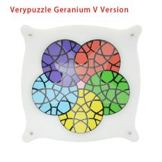List Price 2016 Brand Verypuzzle Geranium Plus V Version Puzzle High Quality Limited Edition Twisty Puzzle Educational Toys Magic Cube Intl Oem