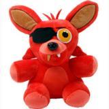 Cheaper 2016 Five Nights At Freddy 18Cm Size Bear Fox Duck Rabbit Clown Kids Juguetes Stuffed Plush Animals Toys Only Red Fox