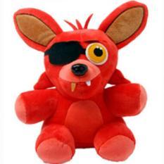 Best 2016 Five Nights At Freddy 18Cm Size Bear Fox Duck Rabbit Clown Kids Juguetes Stuffed Plush Animals Toys Only Red Fox