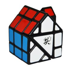 Buy Cheap 2017 Brand Dayan Bermuda House Magic Cube Black Speed Magic Cube Red And Green Roof Puzzle Cubes Kids Educational Toys Intl